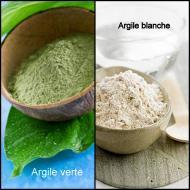 L'argile (verte et blanche)